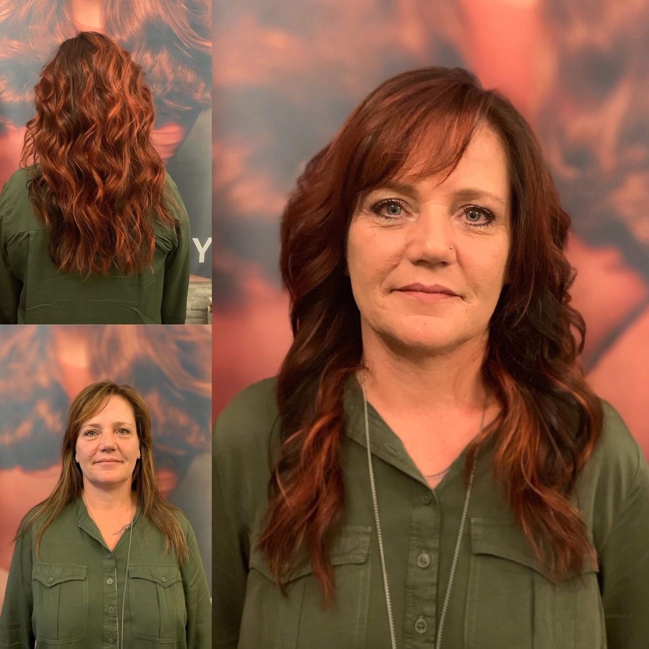 Mit Farbe und Beachwaves mehr Schwung in die Haare.