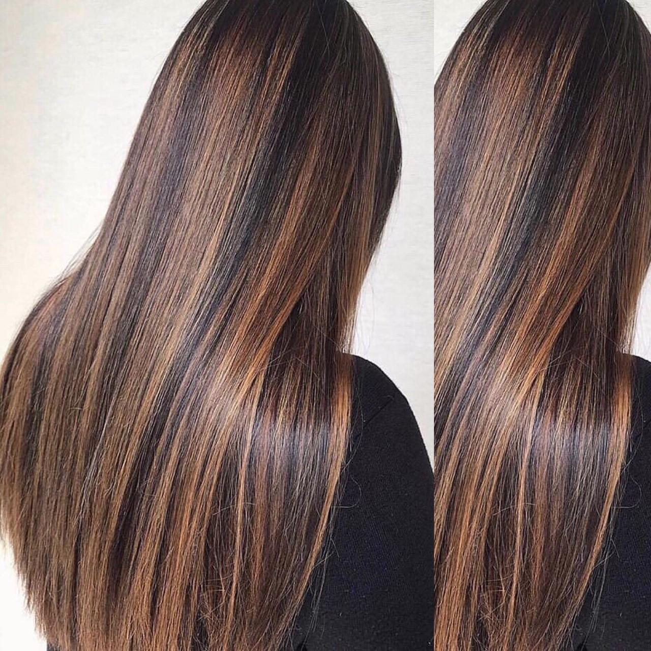 Haare geglättet von Andrea Bachmayer